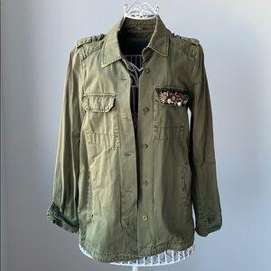 Zara Khaki Shirt/Blazer